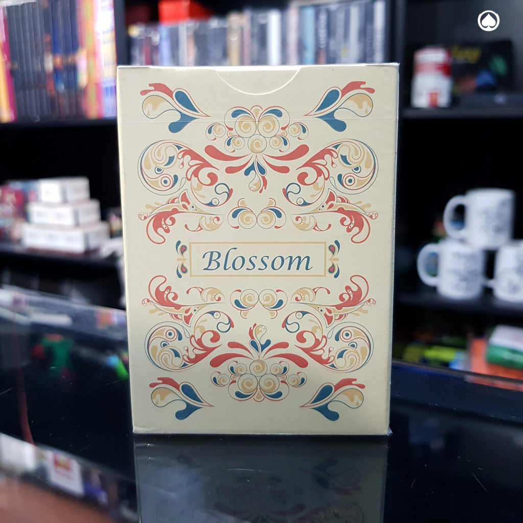Blossom deck Fall Platinum Metallic Ink by Aloy Studios