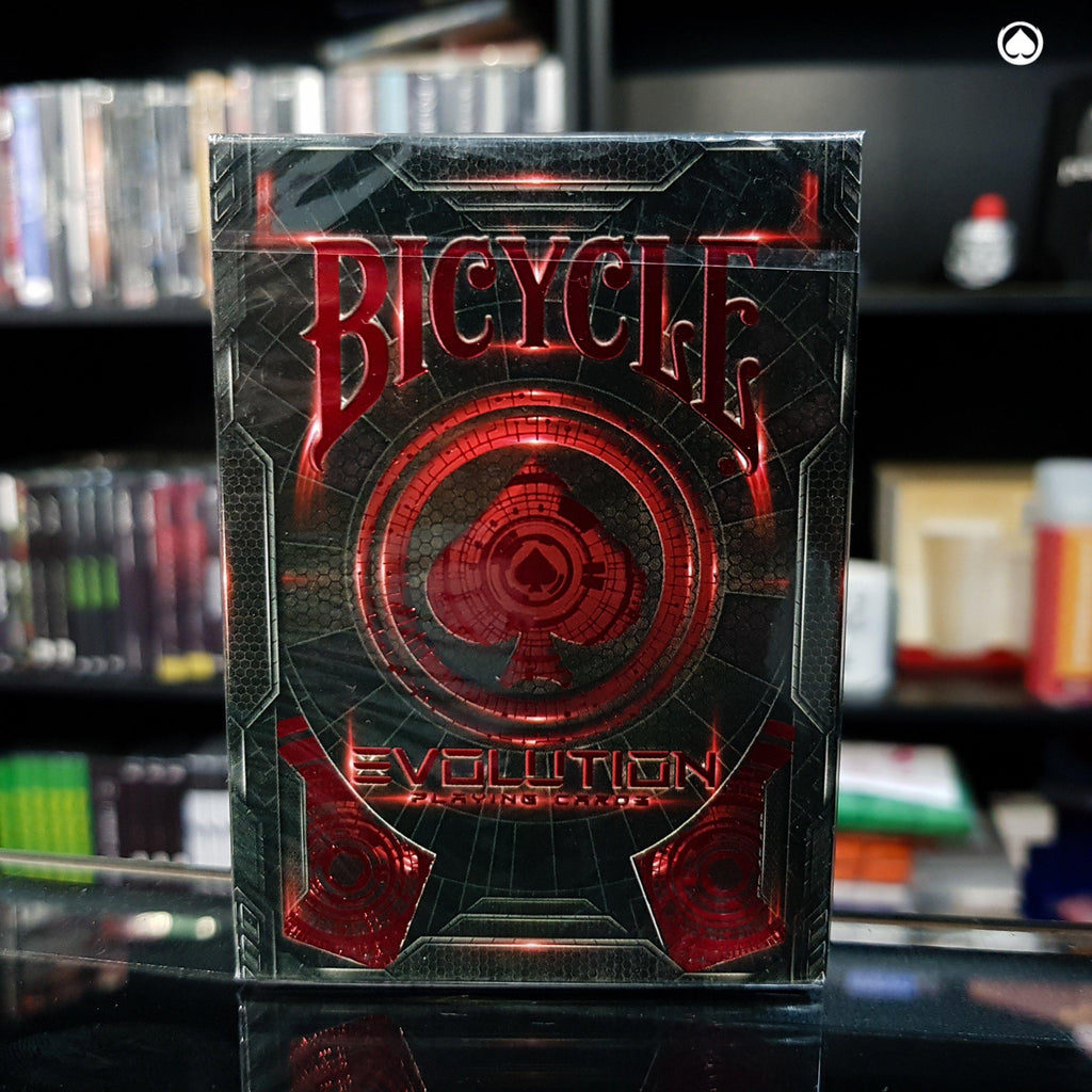 Bicycle Evolution Deck - Edición Limitada - Roja