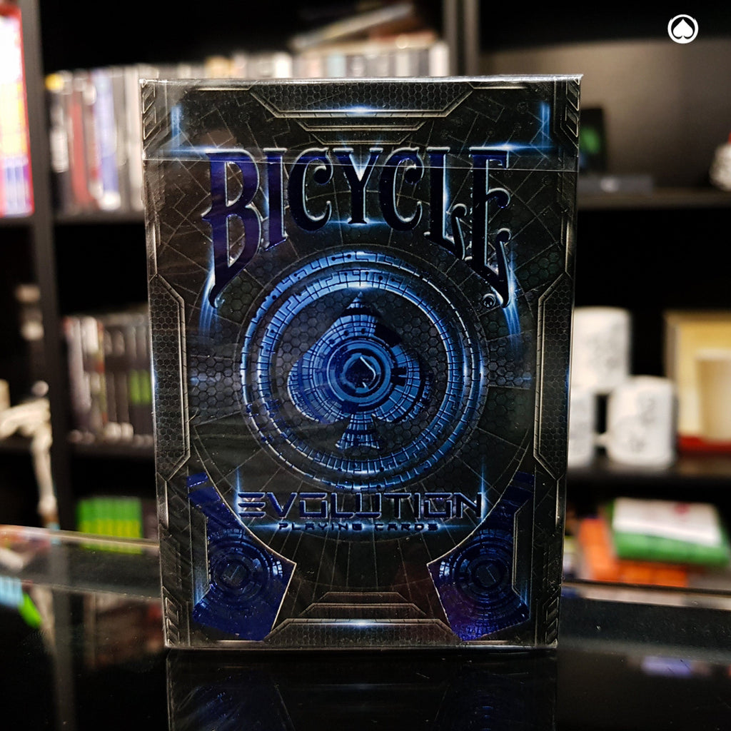 Bicycle Evolution Deck - Edición Limitada - Azul