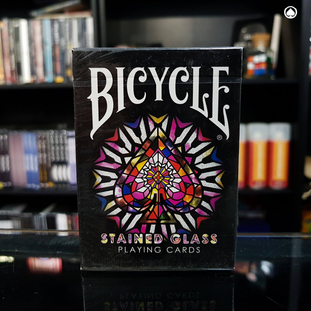 Bicycle Stained Glass Playing Cards by Collectable Playing Cards