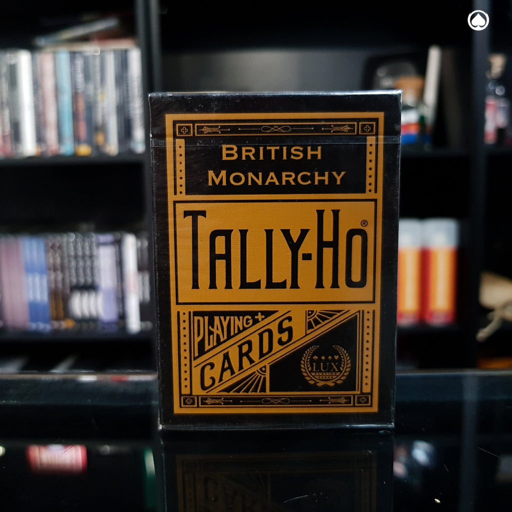 Tally-Ho British Monarchy Playing Cards