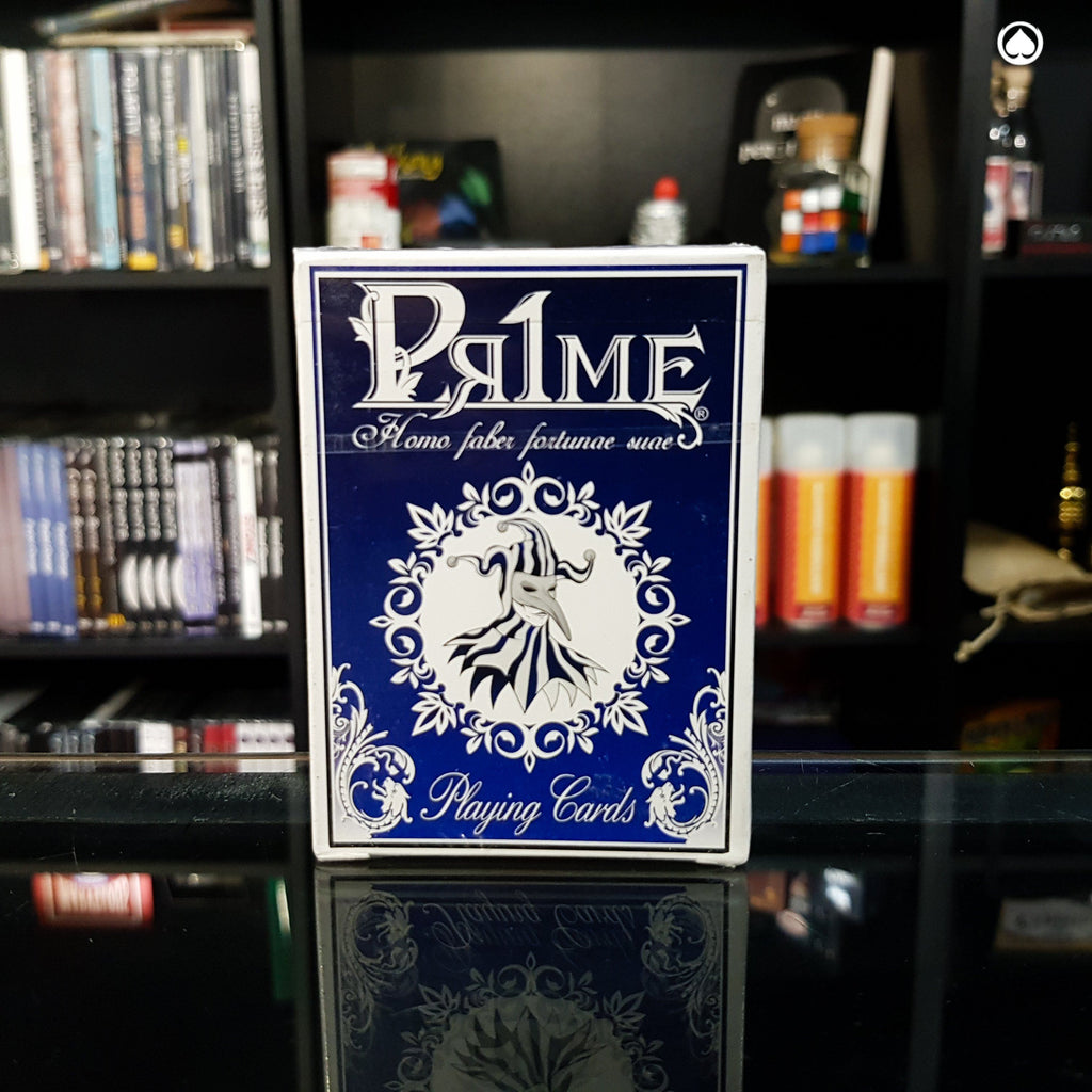 Pr1me Series001 Deck - Azul by Max Magic & Stratomagic