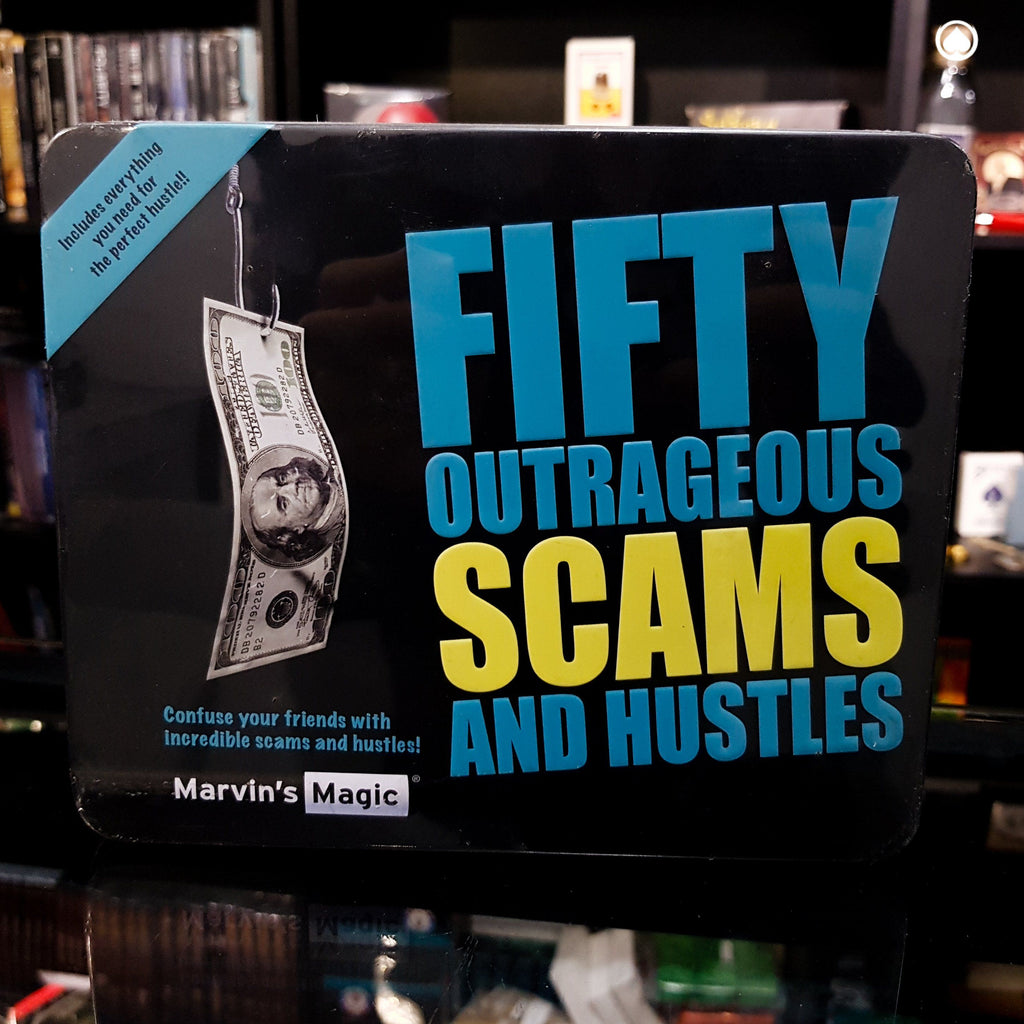 Fifty Outrageous Scams & Hustles by Marvin's Magic