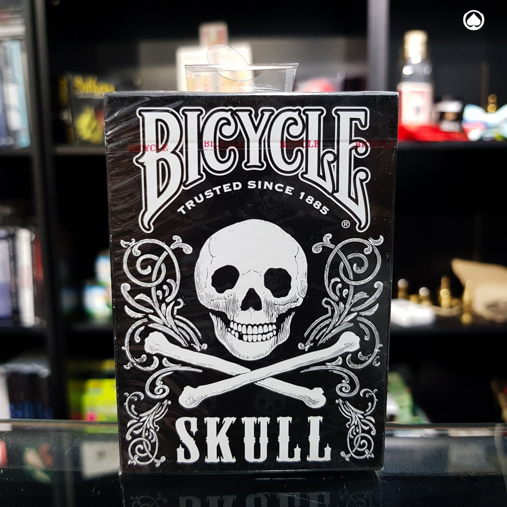 Bicycle Skull Deck