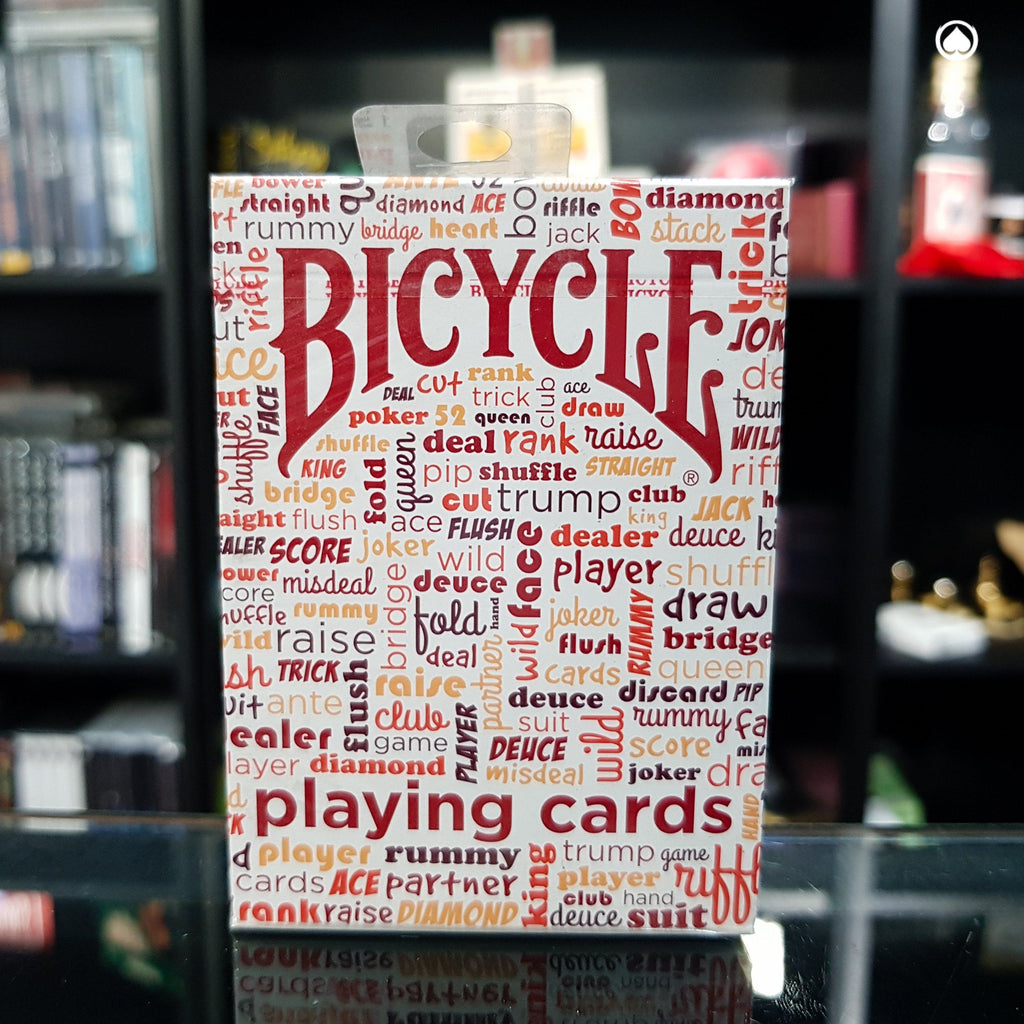 Bicycle Table Talk Deck - Roja