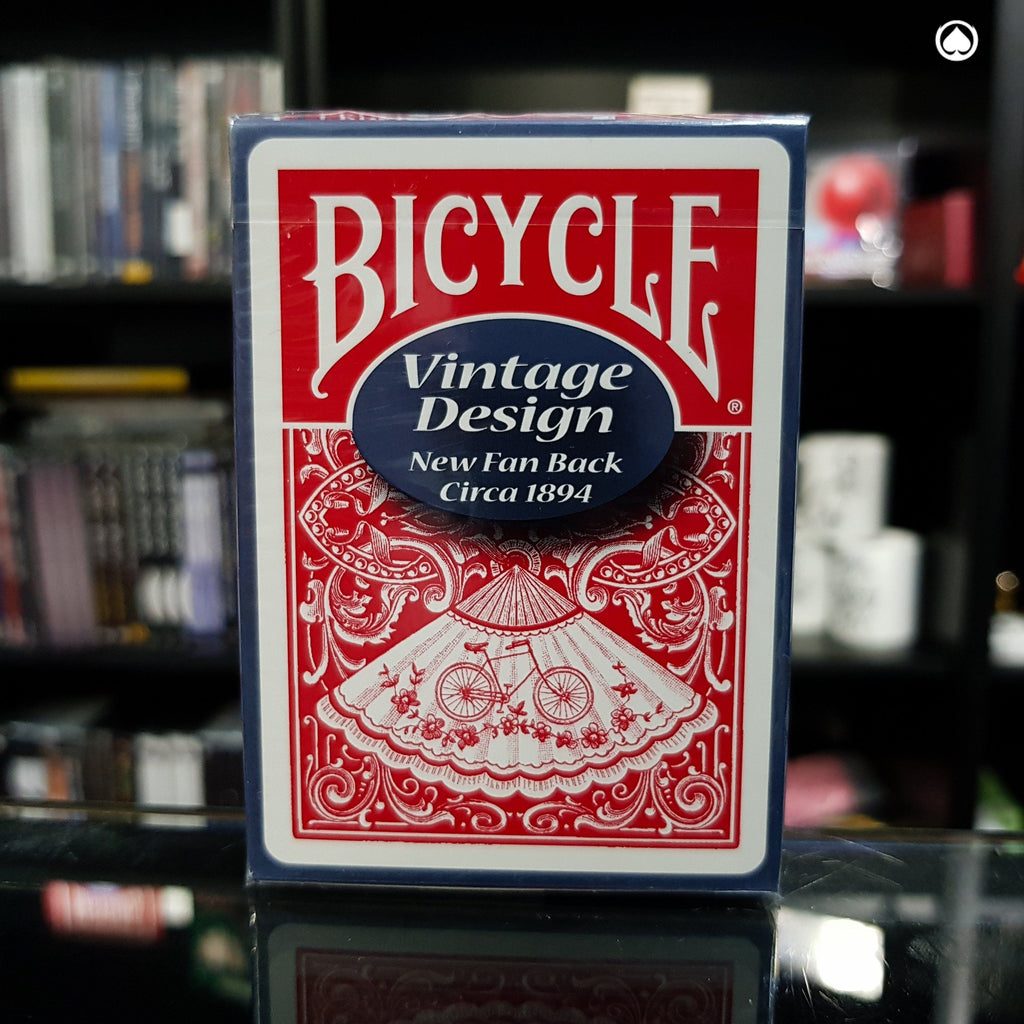 Bicycle Vintage Design: New Fan Back - Roja