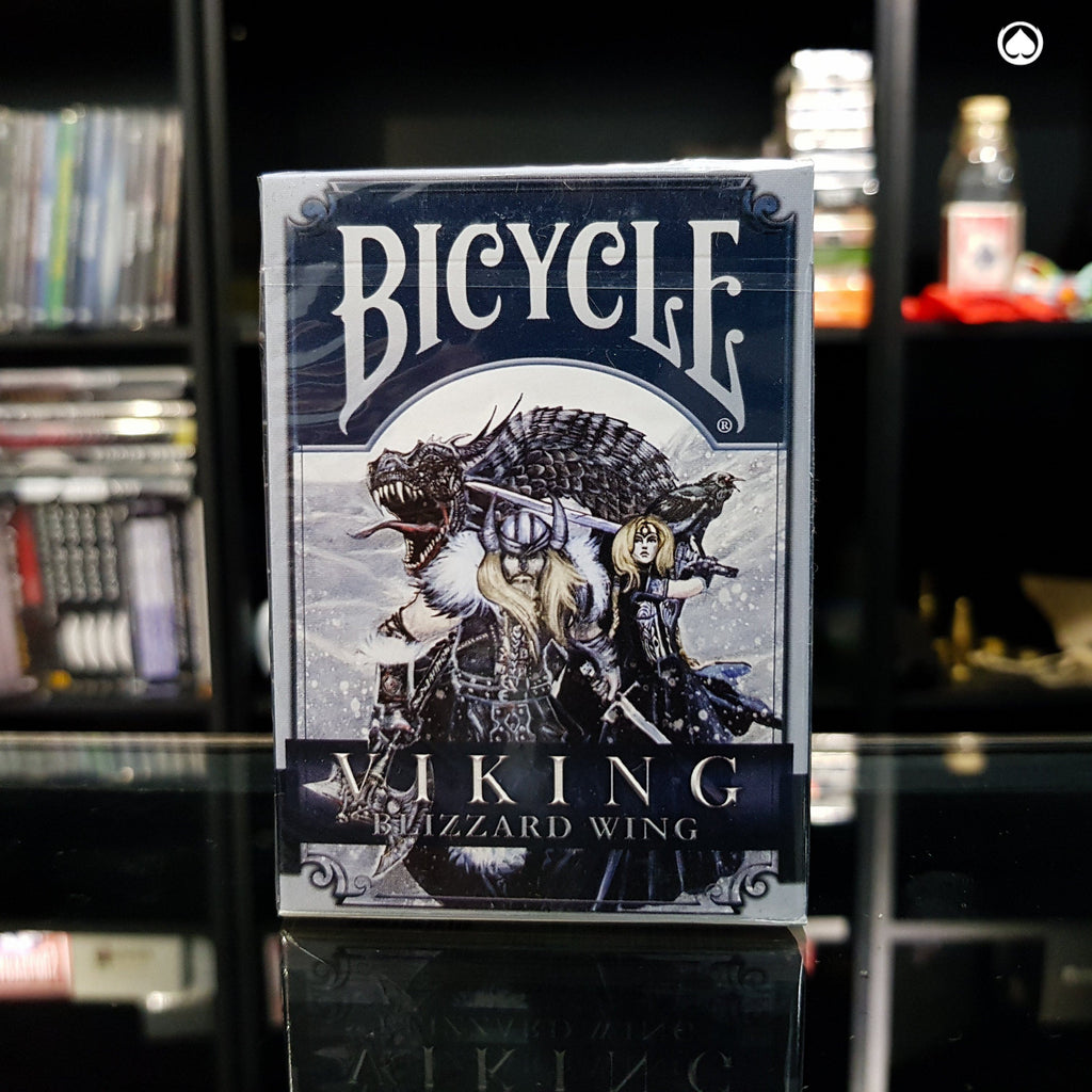 Bicycle Viking Blizzard Wing Deck by Crooked Kings Cards