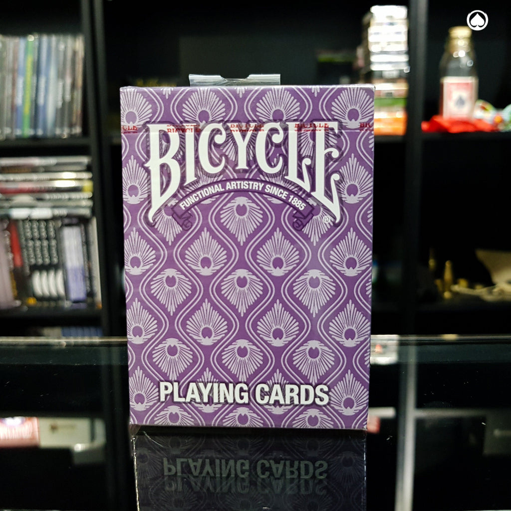 Bicycle Peacock Deck - Morada