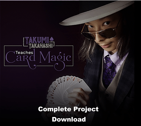 Takumi Takahashi Teaches Card Magic