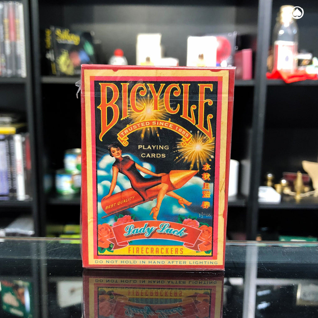 Bicycle Firecrackers Playing Cards by Collectable Playing Cards