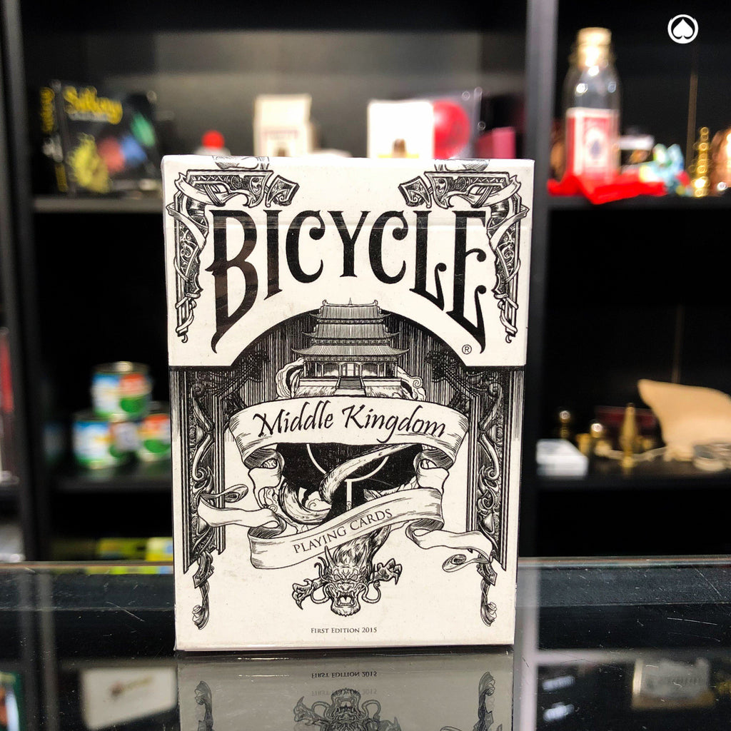 Bicycle Middle Kingdom - White