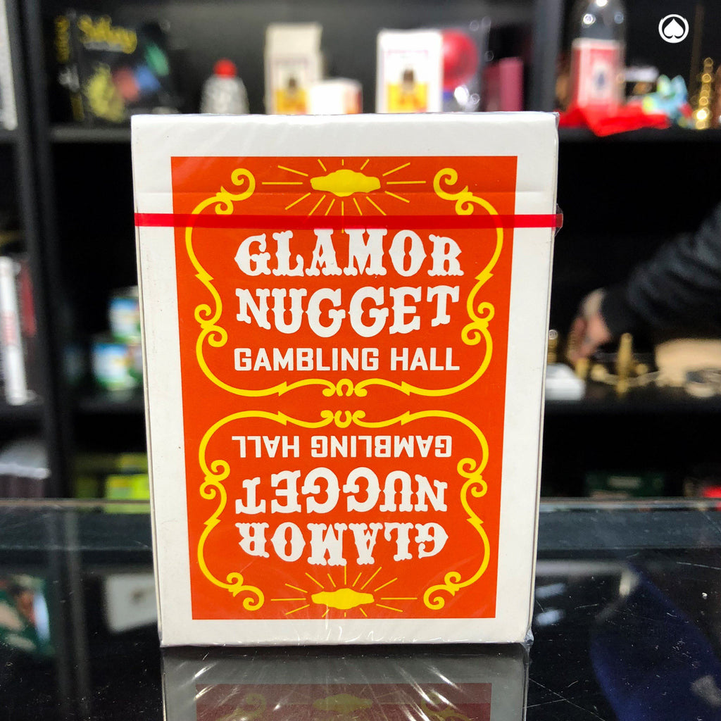 Glamor Nugget Limited Edition Playing Cards - Naranja