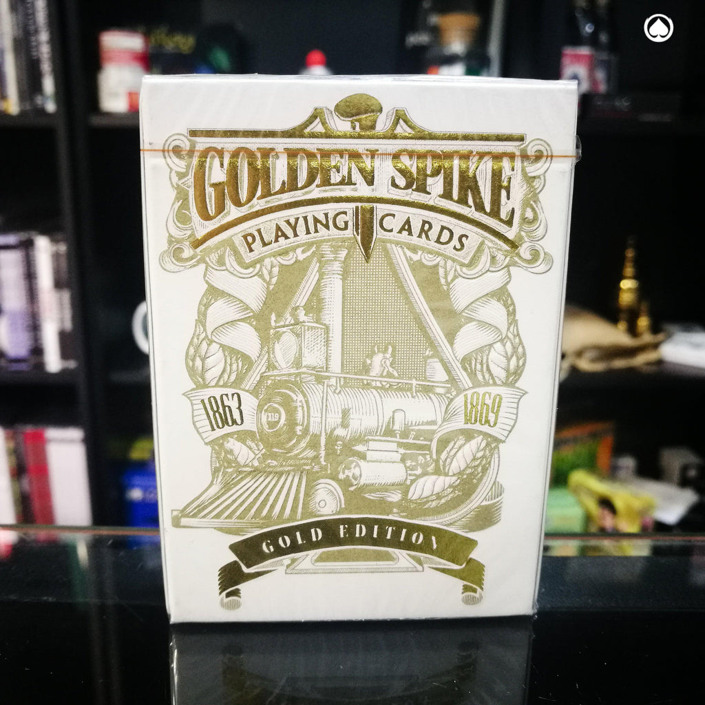 Limited 1st Run Golden Spike Deck by Jody Eklund - Edicion Dorada