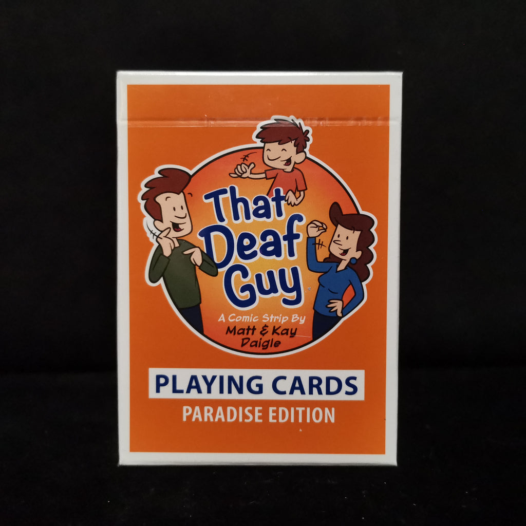 The Deaf Guy Classic Edition Playing Cards