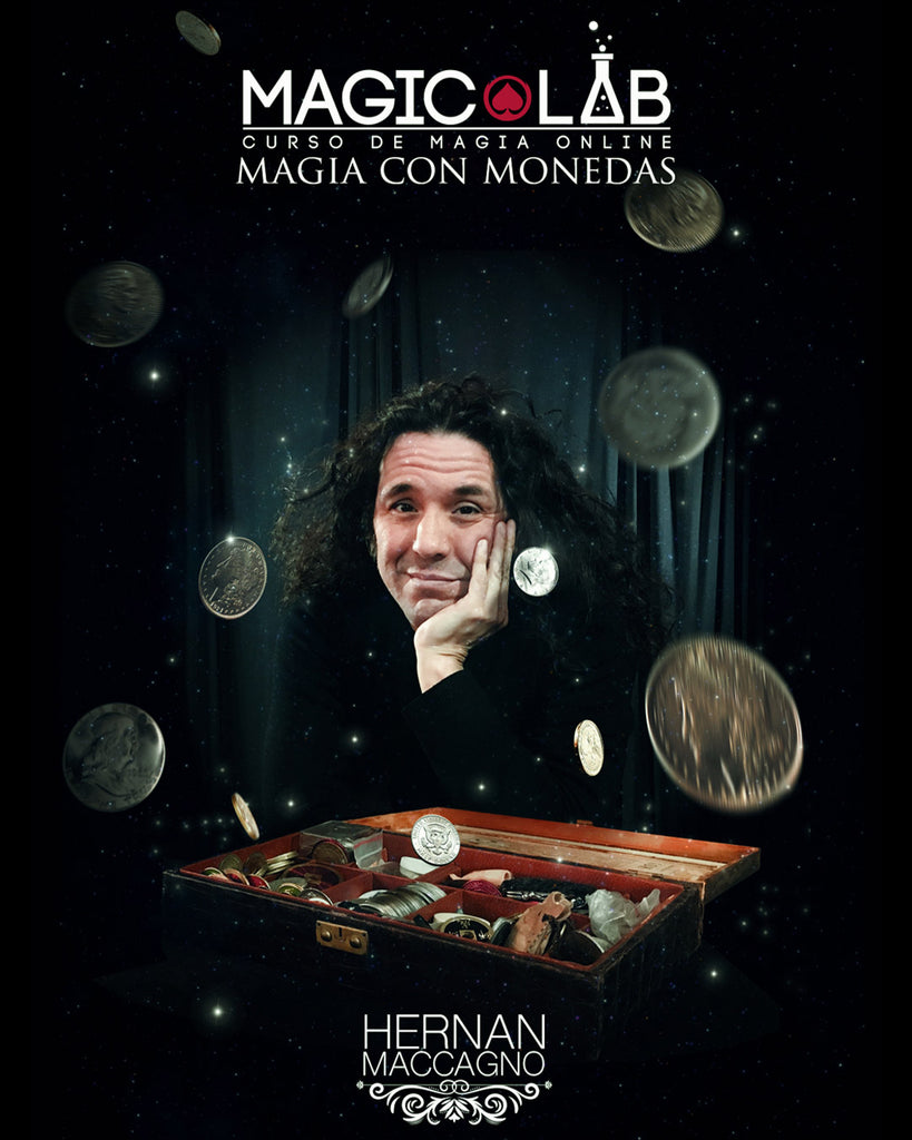 Magic Lab - Curso de Magia Online con Monedas - Hernán Maccagno