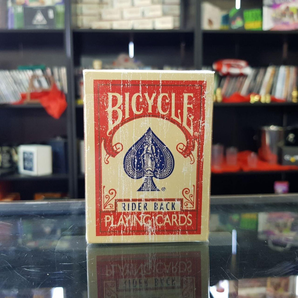 Bicycle Faded Deck - Roja