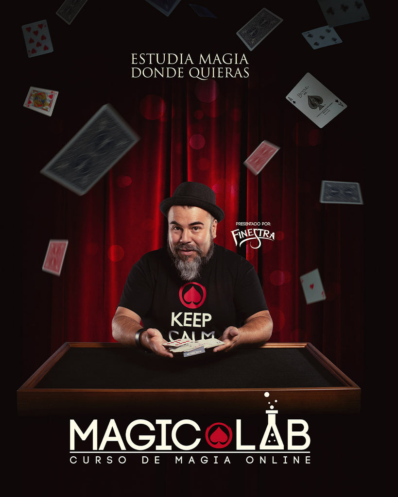 Magic Lab - Curso de Magia Online: Cartomagia