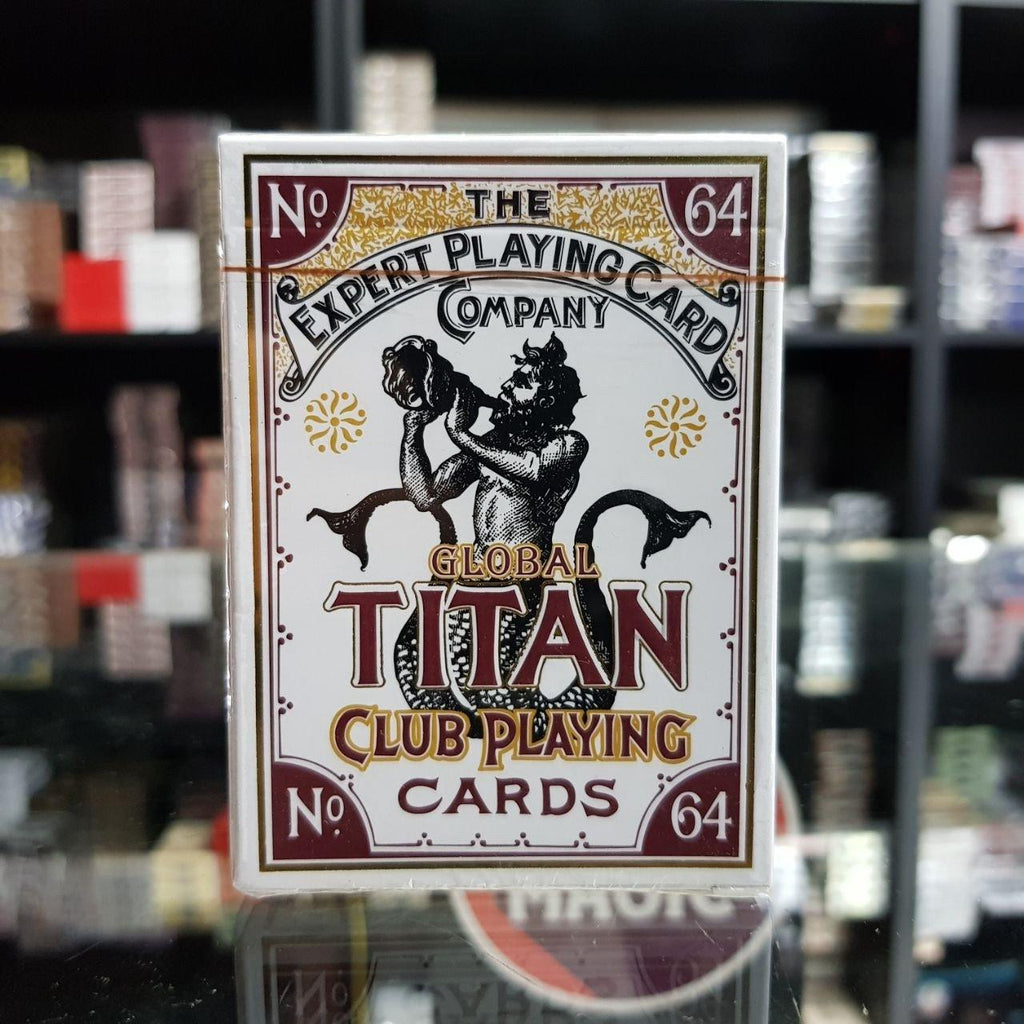 Global Titans White by The Expert Playing Card Co