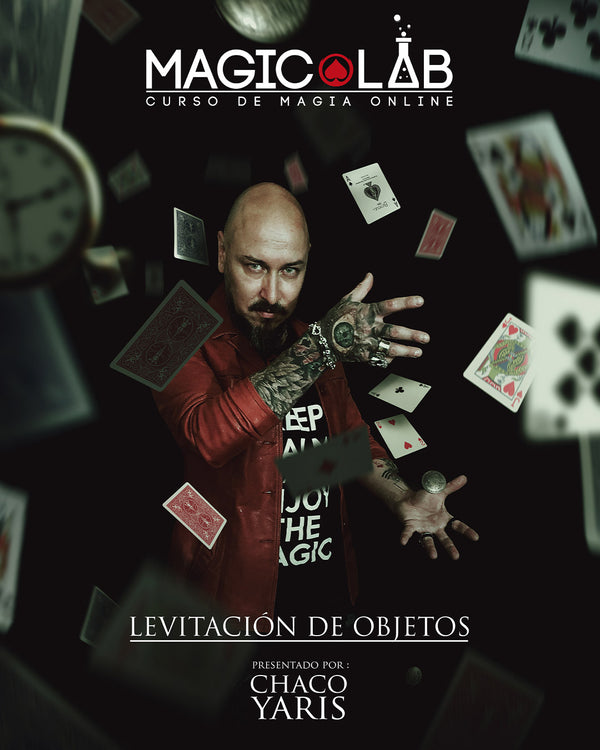 Magic Lab - Curso de Magia Online: Levitación de Objetos