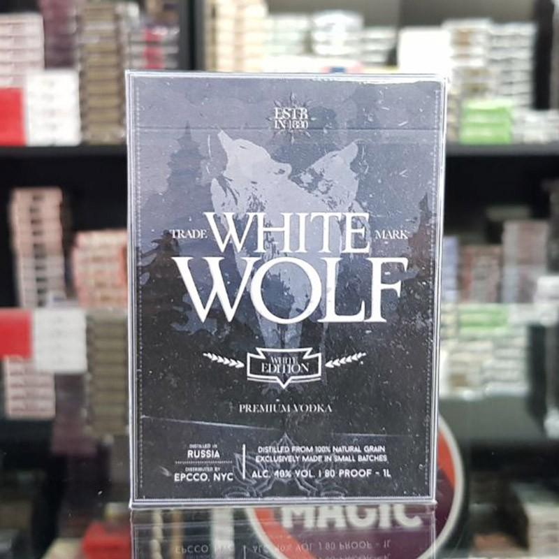 White Wolf Playing Cards