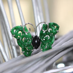 Alex Wong Butterfly Jade Ring Singapore