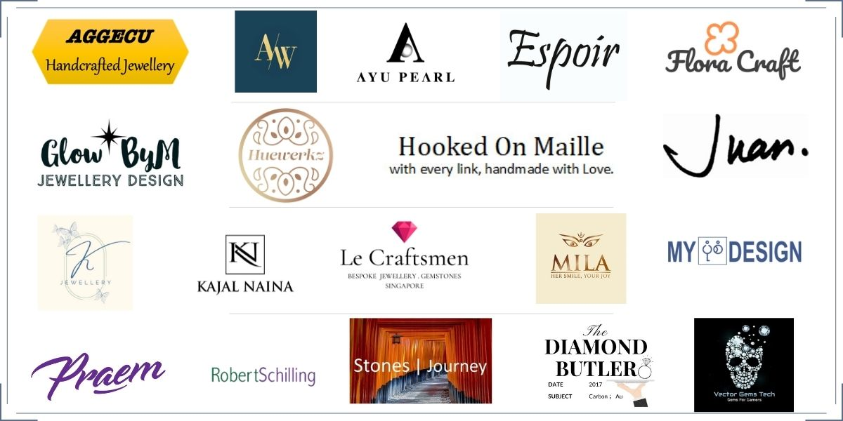 Jewellery designers that have donated their products for the charity sale.