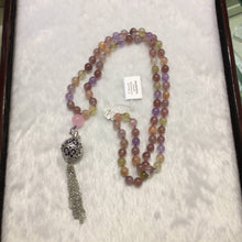 Load image into Gallery viewer, 81 Mala and Aromatherapy pendant necklace