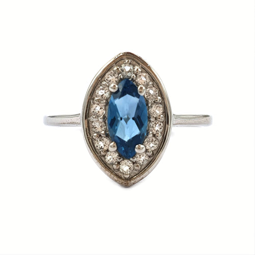 Marquise Topaz Ring