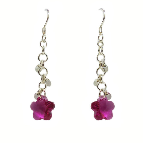Fuchsia Dew Earrings