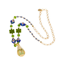 Load image into Gallery viewer, Dewdrop Locket Aromatherapy Pendant necklace