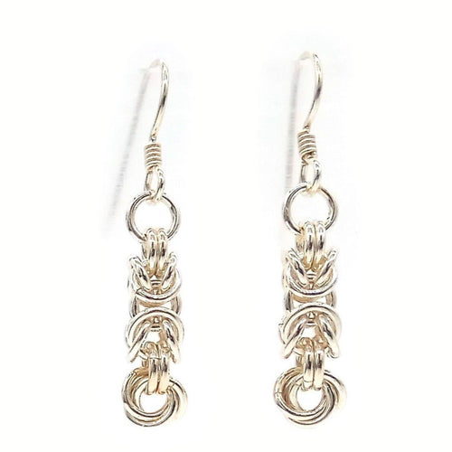 Sterling Byzantine Bloom Earrings
