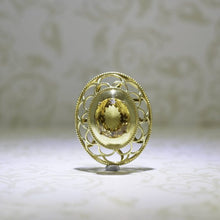 Load image into Gallery viewer, Vintage Design Citrine pendant