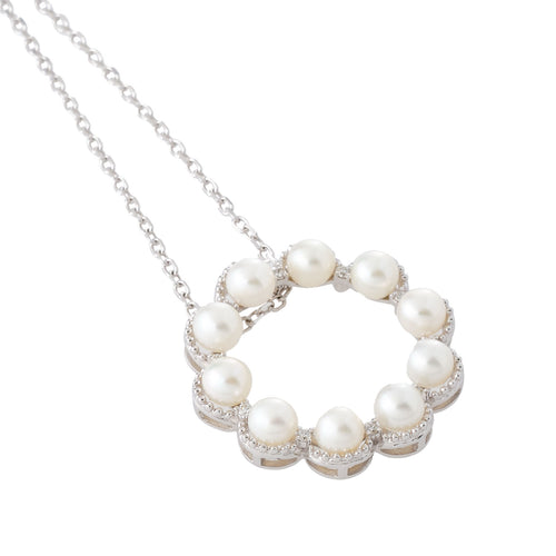 Circle of Pearls Necklace