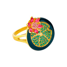 Load image into Gallery viewer, Singapura / Lotus in the Pond Ring