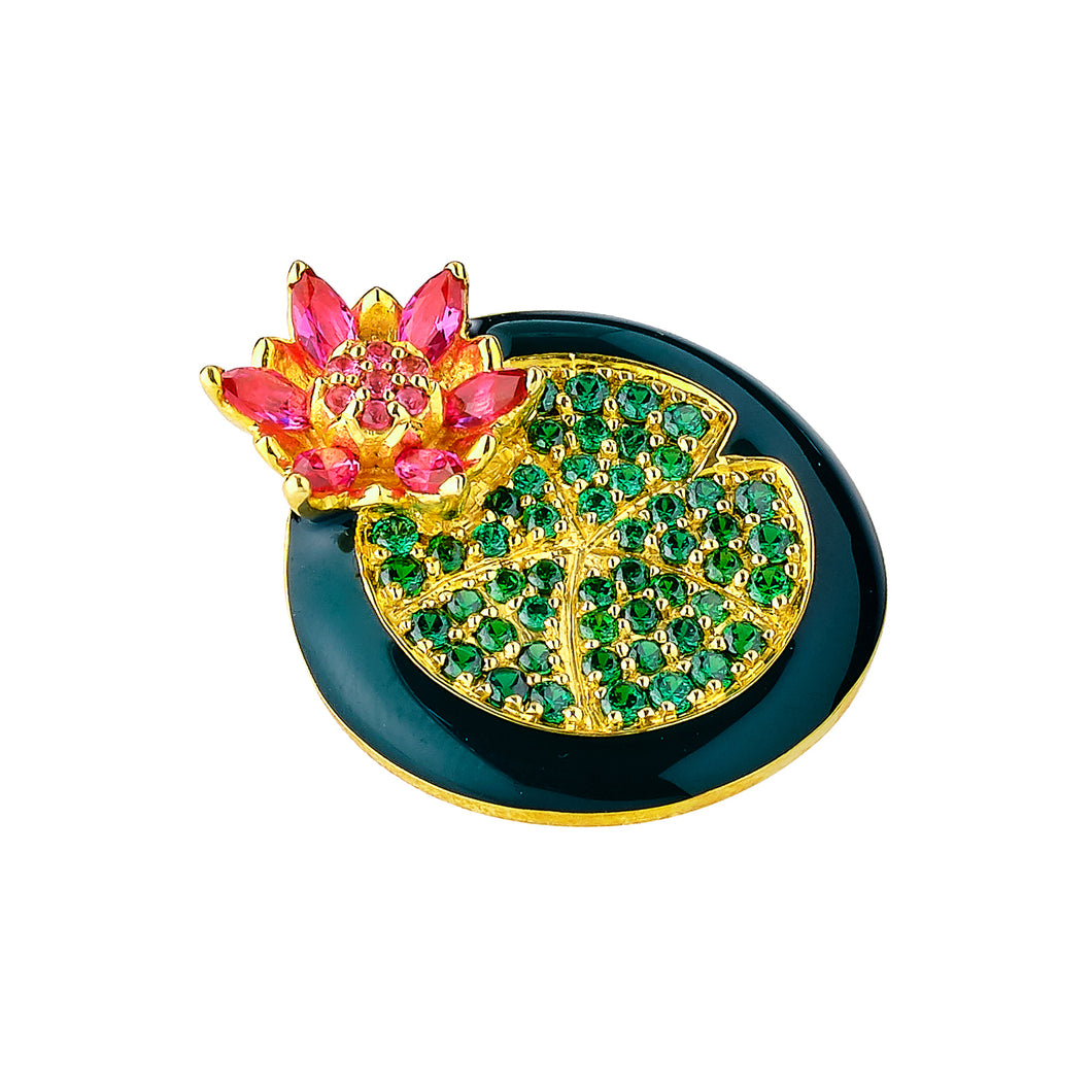 Singapura / Lotus in the pond Pendant