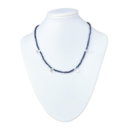 Lapis and Briolette Necklace