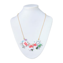 "Load image into Gallery viewer, ""Puzzle Singapore"" Necklace"