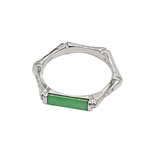 Bamboo Jade Ring