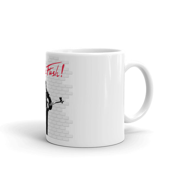 In The Flesh? - Guitar Mug