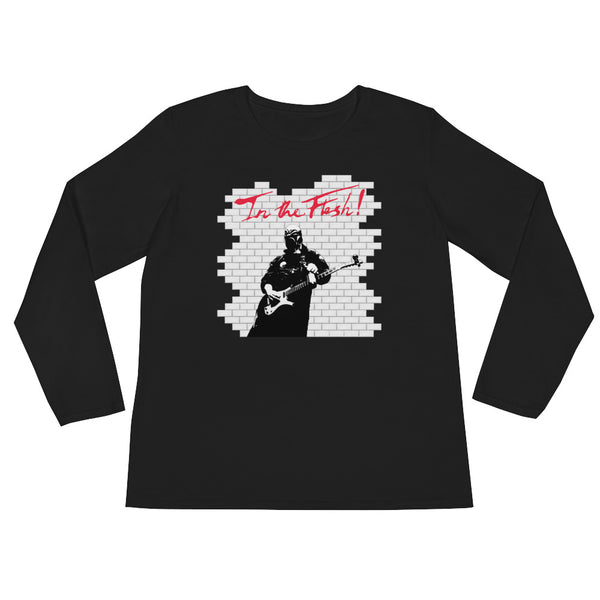 In The Flesh? - Guitar Women's Long Sleeve T-Shirt