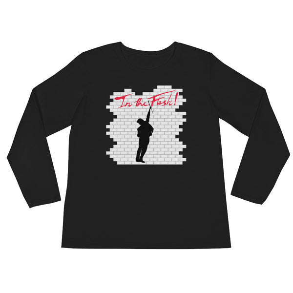 In The Flesh? - Bowler Hat Guy Women's Long Sleeve T-Shirt