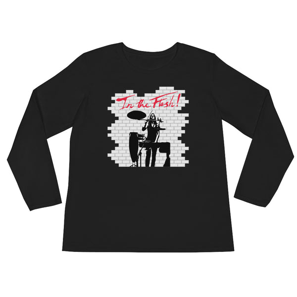 In The Flesh? - Percussion Women's Long Sleeve T-Shirt