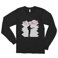 In The Flesh? - Bass Men's long Sleeve T-Shirt