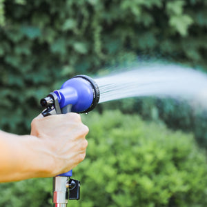 50 ft Expandable Garden Hose with 8 function Spray Nozzle