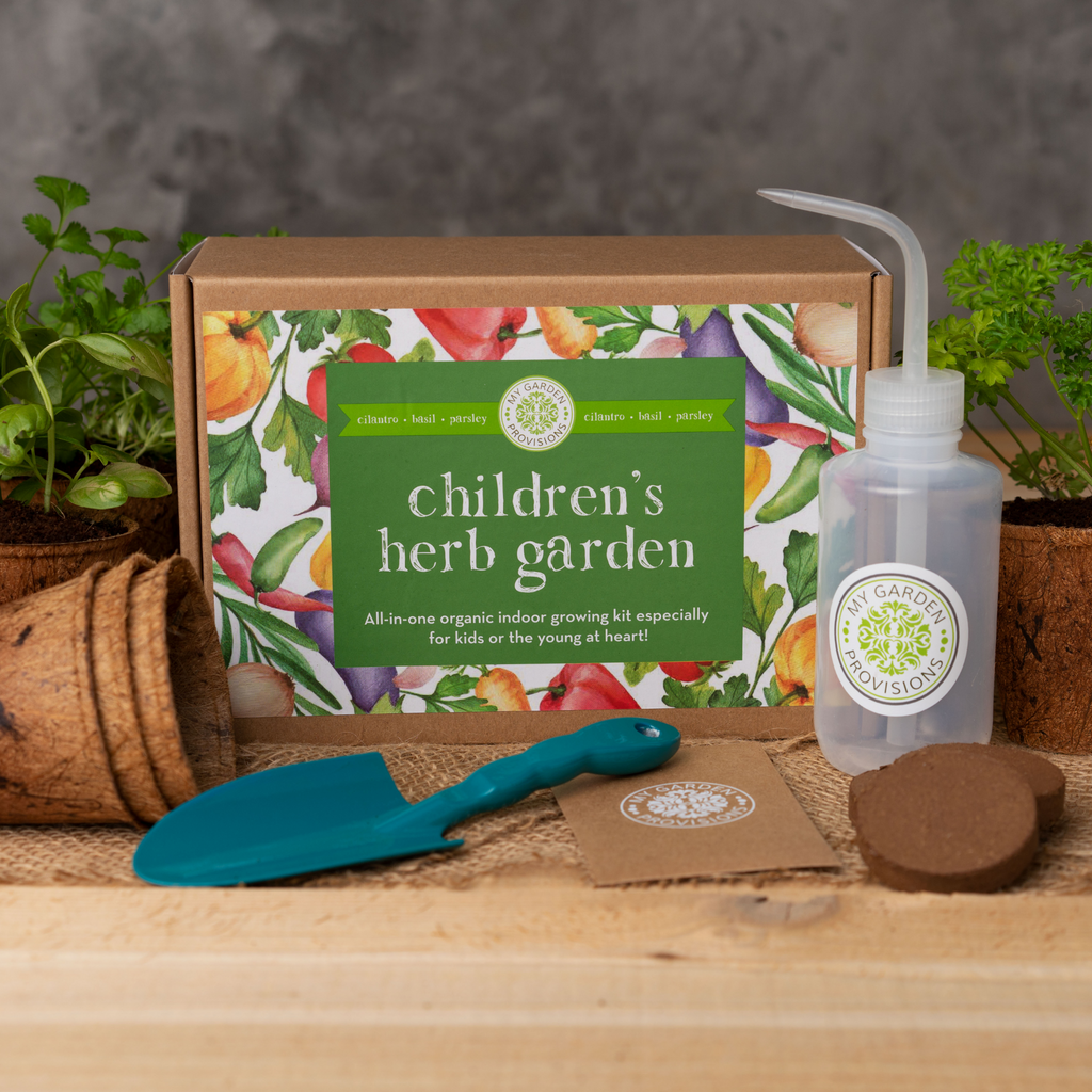 Kids Indoor Herb Garden Kit