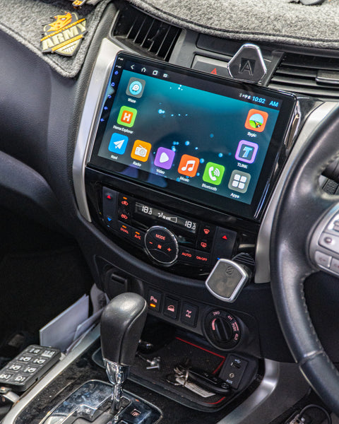 10inch Android Head Unit to suit Nissan Navara NP300