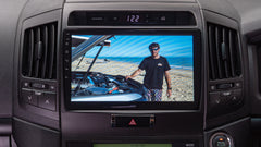 10inch Custom EC Head unit to suit LandCruiser 200 Series 2007-2015