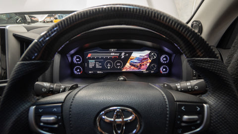 Digital Dash Cluster to suit LC200 - 200 Series Landcruiser SALE