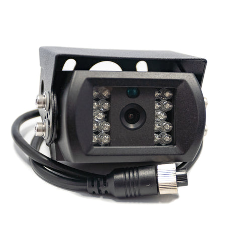 4 Pin Waterproof Caravan Camera - Black