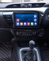 10inch Android head unit to suit HILUX 2015+ N80